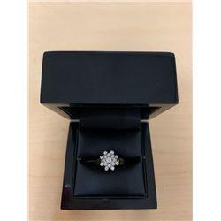 Starburst Diamond 14Kt Ring