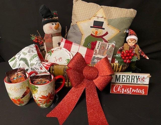 Hobby Lobby Christmas Basket  - Bellingham