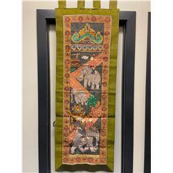 Silk Thai Tapestry