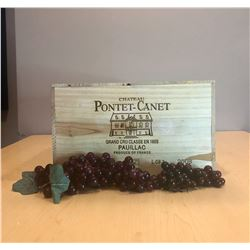 6 Magnums of 2008 Pontet Canet in OWC