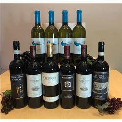 10 Assorted great drinking Italian wines