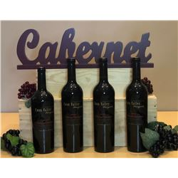 4 Bottles Vertical of Anderson Conn Valley Napa Estate Reserve Cabernet Sauvignon