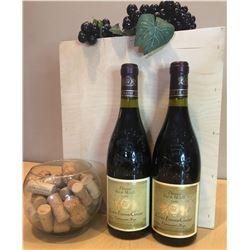 2 Bottles Domaine Font de Michelle Cuvee Etienne Gonnet