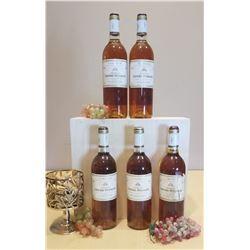 5 Bottles of 1990 Chateau Lafaurie-Peyraguey Sauternes