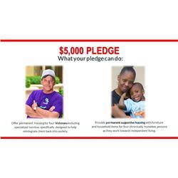 $5,000 Pledge