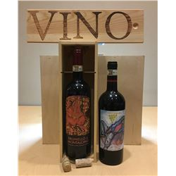 2 Bottles Brunello Riservas from Castello Romitorio