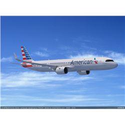 AMERICAN AIRLINES AADVANTAGE MILES 650,000