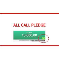 All Call Pledge