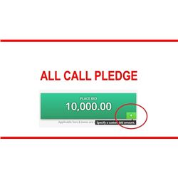 All Call Pledge