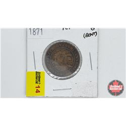 Prince Edward Island One Cent 1871