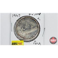 Canada One Dollar 1947