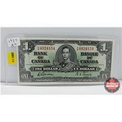 Bank of Canada $1 Bill Gordon/Towers NM4924154