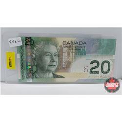 Canada $20 Bill 2004 Jenkins/Carney EUL4771960
