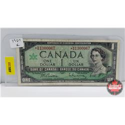 "Canada $1 Bill 1967 ""Replacement"" Beattie/Rasminsky *BM1300067"