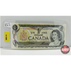 Canada $1 Bill 1973 Crow/Bouey EAX2377556