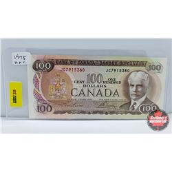 Canada $100 Bill 1975 Lawson/Bouey JC7915380
