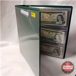 Canada $1 & $2 Bills - Binder Lot (21) : See pics for Signatures / Variety