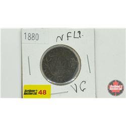 Newfoundland One Cent 1880