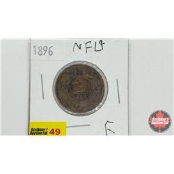 Newfoundland One Cent 1896