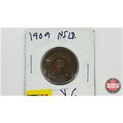 Newfoundland One Cent 1909