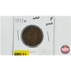 Newfoundland One Cent 1917C