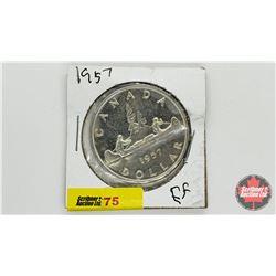Canada Silver Dollar 1957