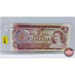 "Canada $2 Bill 1974 ""Replacement"" Lawson/Bouey *BA0432619"