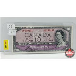 Canada $10 Bill 1954DF : Coyne/Towers AD9359431