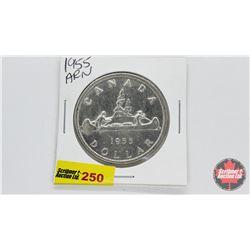 Canada Silver Dollar 1955 Arn