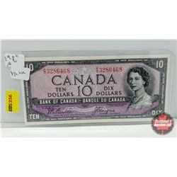 Canada $10 Bill 1954DF : Beattie/Coyne FD3286468