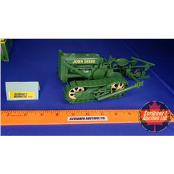 John Deere Lindeman Crawler with Two Bottom Plow (Scale: 1/16)