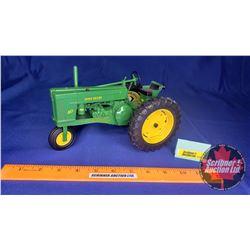 """John Deere 60 with Single Front Wheel """"Summer Farm Toy Show June 3, 4 & 5 Dyersville Iowa 2005"""" (Sca"""