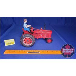 "Farmall H w/Farmer ""Ertl 50th Anniversary""  (Scale: 1/16)"