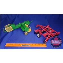 Implement Combo : Square Baler & Disc