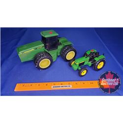 John Deere Toy Tractor Combo : 8960 Battery Operated & 3350
