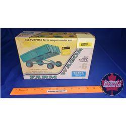 ALL-Purpose Farm Wagon Model Kit (Sealed) (Scale 1/25)
