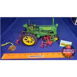 John Deere Model A Tractor with 290 Series Cultivator - Precision Classics #2 (Scale: 1/16)
