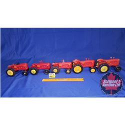 Massey-Harris 44 Collection (5 Toy Tractors)