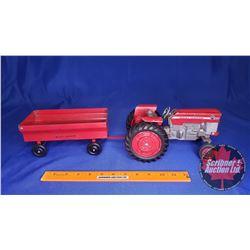 Duo (Scale: 1/16) : Massey-Ferguson 175 Diesel & Flare Box Wagon