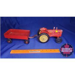 Duo (Scale: 1/16) : Massey Harris 44 Tractor & Wagon