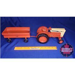 Duo (Scale: 1/16) : CASE 930 & Flare Box Wagon
