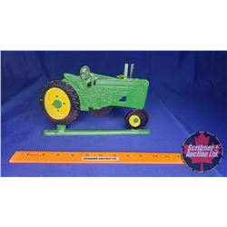 John Deere 3D Metal Painted Plaque (Double Sided)