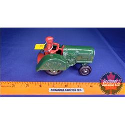 "Vintage Hubley Oliver 70 Orchard Cast Toy Tractor (5""L x 3""W x 3""H)"