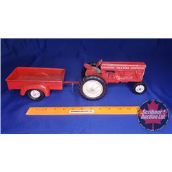 Tru-Scale Tractor with Truck Box Trailer (Scale: 1/16)