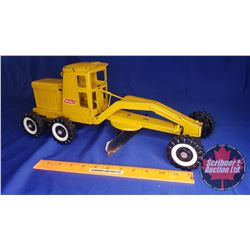 "Buddy L Metal Grader Toy ""Department of Highways"" ""Lil Beaver"" (18""L x 8""W x 7""H)"