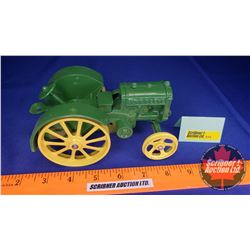 "John Deere Model ""D"" 1923  (""Just Like The Popular Cast-Iron Toy Made 40 Years Ago"")"