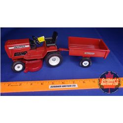 Snapper Lawn Tractor with Mower Deck & Wagon (Scale: 1/16)
