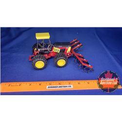 Versatile 276 Bi-directional Tractor with Cultivator (Cultivator Damage) (Scale: 1/32)