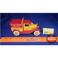 Truck Bank: Ford Model A Pickup (Lockable) (Scale: 1/25)