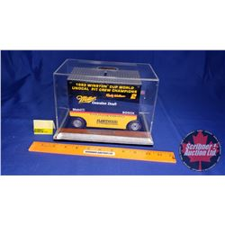 """Winston Cup Collectible """"Pit Wagon Bank"""" Miller Genuine Draft (Ford) Penske Racing (Scale: 1/16)"""